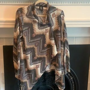 Southwestern looking bobeau sweater
